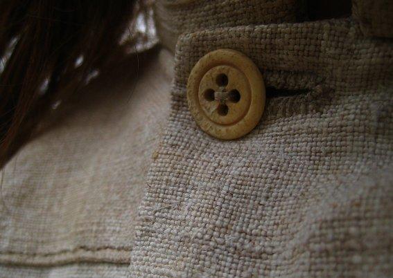 skjorta, handsydd