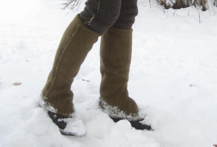 snösockor