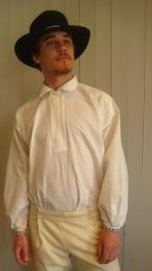 sollerödräkt, skjorta